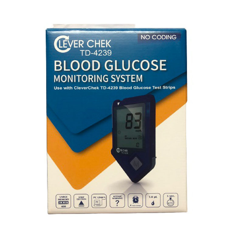 Clever chek blood glucose monitor