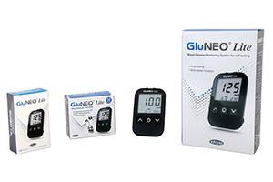 Gluconeo lite blood glucose monitor