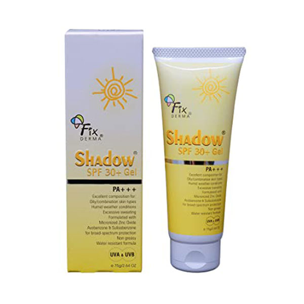 Fixderma shadow spf 30+ gel
