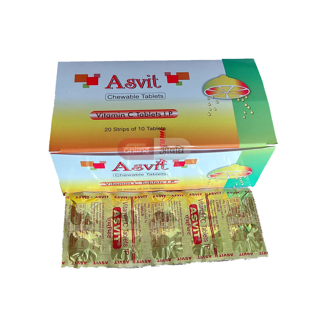 Asvit Chewable  Tablet
