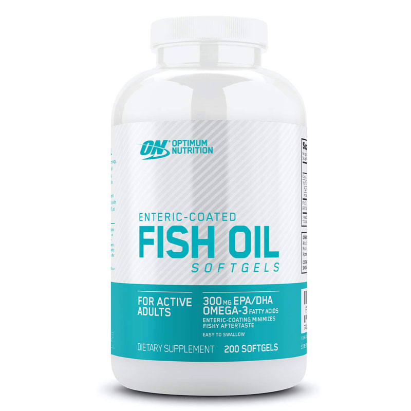 Enteric Coated Fish Oil 200 ct (Strength & Recovery)